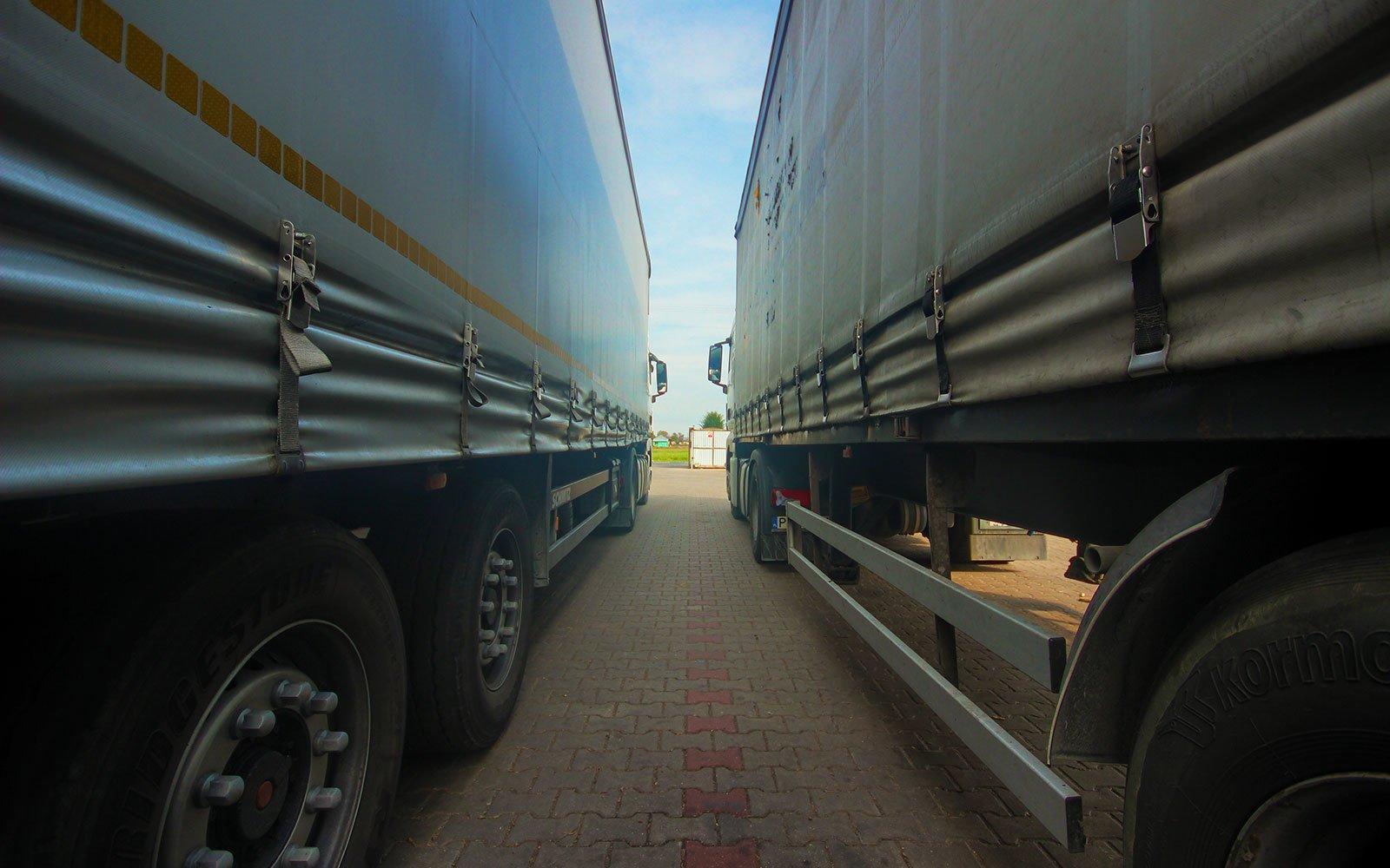 Nasze palety transportujemy własną flotą pojazdów